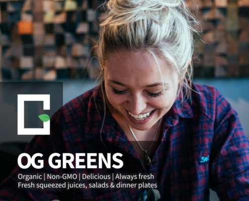 OG Greens Flavorful Salads & Plates
